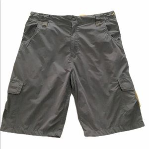 Gray board shorts swim mens sz 40 lined